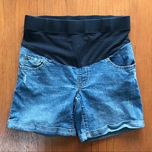 Oh Baby by Motherhood Maternity Jean Shorts